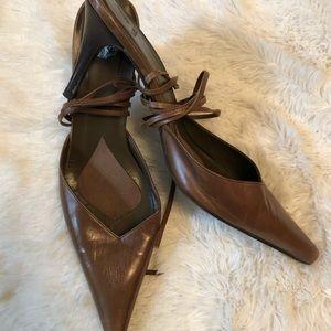 Vintage Zara Lace Up Heels